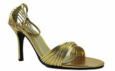 Chinese Laundry CL Women's Willy Dress Sandals Shimmer 18K Gold 10 M