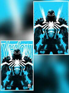 Venom #29 Tyler Kirkham Variant Set Virgin & Trade Agent Venom Knull Nm