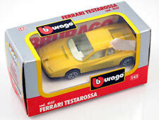 B burago 4157 Ferrari Testarossa 1/43 Die-Cast Made in Italy modellismo statico