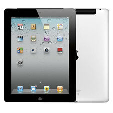 Apple iPad 2 64GB, Wi-Fi + 3G (Unlocked), 9.7in - Black Very Good Condition