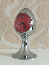 70er Space Age Staiger Wecker Uhr Tulpenfuss Made In West Germany Vintage 70s