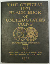 Milton Dinkun Official 1971 Black Book of United States Coins Eighth Edition