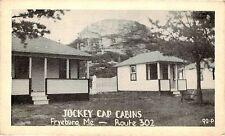 FRYEBURG MAINE JOCKEY CAP CABINS ROUTE 302