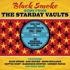 BLACK SMOKE - GEMS FROM THE STARDAY VAULTS - VARIOUS ARTIST (NEW SEALED 2CD)