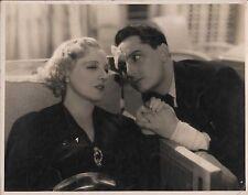 "HUGUETTE DUFLOS & PIERRE BRASSEUR in ""Visages de Femmes"" Original OVERSIZE 1939"