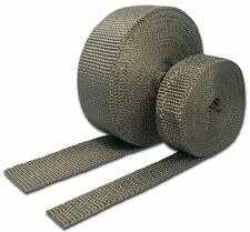 """Thermo-Tec THE11041 1"""" x 50' Carbon Fiber Exhaust Wrap - Sold Individually"""
