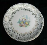 Royal China Warranted 22 KT Gold Plate Eggshell Georgian Homer Laughlin Ladies