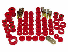 Prothane 84-96 Chevy C4 Corvette Complete TOTAL Suspension Bushing Kit Red