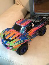 Traxxas LaTrax Prerunner 1/18th scale 4wd truck Rtr w/color rush paint scheme