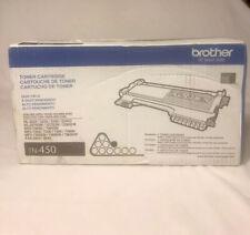 NEW Genuine OEM Brother TN-450 High Yield Replacement Black Toner Cartridge NIB