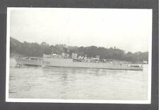 Original Real Photo Royal Navy  H.M.S. URCHIN