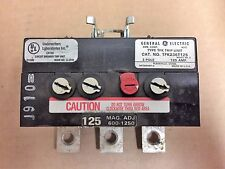 General Electric TFK Trip Unit TFK236T125 3 Pole 125 Amps