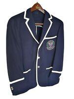 Mens POLO RALPH LAUREN Wimbledon Umpire wool blazer/jacket. Size 42S RRP £895.