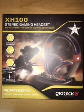 AURICULARES HEADSET GIOTECK XH100 MILITARY EDITION (PS4/XBOX ONE/PC/MAC/MOBILE)