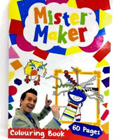 MR MISTER MAKER 60 PAGES CHILDREN'S COLOURING BOOK GIFT FUN PARTY UK SELLER