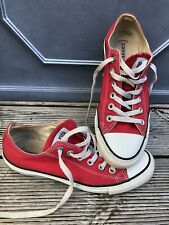 Iconic Red Converse Super Star Size 6 39 Good Condition 🥰