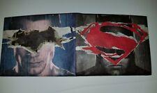 Mighty Wallet Batman vs Superman Men's Ultra Thin Strong Tyvek Wallet