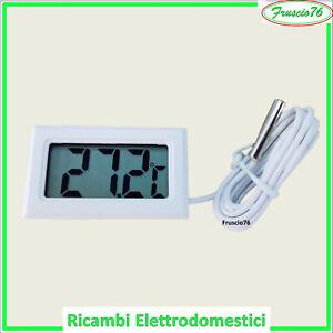 Termometro Digitale con Sonda per Frigorifero Congelatore Acquario -50 +70 Gradi