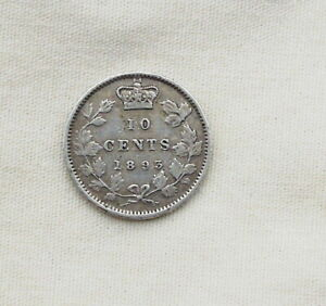 1893 Canadian Silver Dime