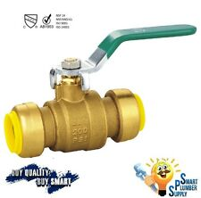 "1/2"" Push Fit Ball Valve with 5 yrs warranty (118-01) - Lead Free"