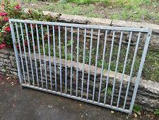 New listing Galvanised Metal Railings Galv Metal Fencing Railings Garden Decking Screening