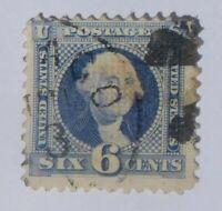 1869 - USA - 6 Cent George Washington Briefmarke - Scott #115