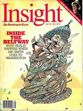 magazine, nostalgic, collectible, Insight 1985-09-30