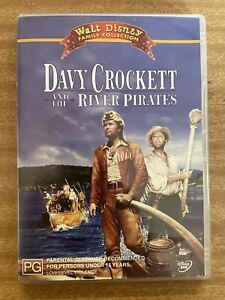 DAVY CROCKETT AND THE RIVER PIRATES (1956) (DVD, 2004) VERY GOOD CONDITION RARE!