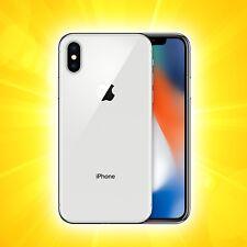 Apple iPhone X - 64GB - Silber (Ohne Simlock) A1901 (GSM)