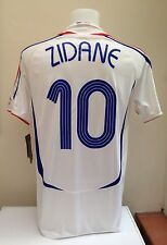France Football Shirt Jersey ZIDANE XL With Tags 2006 World Cup Away Adidas