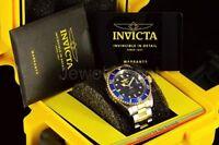 Invicta Mens Watch 8928OB Pro Diver SUBMARINER Blue Dial Gold Automatic Bracelet
