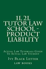 1L 2L Tutor Law School - Product Liability : Actual Law Tutorials Given to...