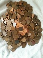 Circulated Canadian One Cent Roll 50 Pennies 1921-2012