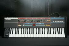Roland Juno-106 Polyphonic 80's Vintage Analogue Synthesiser - Serviced - 240V