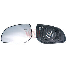 HYUNDAI I20 2008->2013 DOOR/WING MIRROR GLASS SILVER, HEATED & BASE,LEFT SIDE