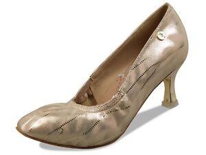 """2.5"""" Delux Close Toe Ladies Premium Ballroom Shoes"""