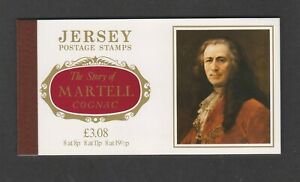 Jersey - 1982, The Story of Martell Cognac Booklet - MNH - SB33