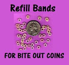 Rubber Bands for Magic Bite Out Folding Coin - Refills