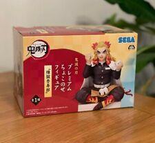 More details for demon slayer:kimetsu no yaiba:sega premium:kyojuro rengoku figurine (uk seller)