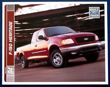 Prospekt brochure 2004 Ford F-150 Heritage Pickup (USA)