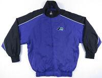 Vintage 90s Tampa Bay Devil Rays Logo Athletic MLB Baseball Windbreaker Jacket
