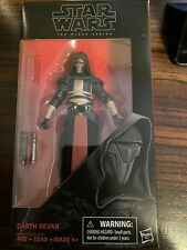 """STAR WARS THE BLACK SERIES DARTH REVAN KNIGHTS OF THE OLD REPUBLIC 6"""" FIGURE #34"""