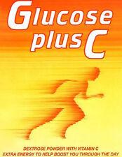 125g Glukose Plus C Pulver Extra Energie Hoch Vitamin C Energieschub