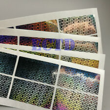 """Hologram """" Security Seal """" Tamper Evident Label Stickers Seals High Quality~500"""