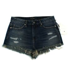 NEW Artisan De Luxe Distressed Denim Jeans Shorts BODI HIPSTER CUT OFF M-L / 31