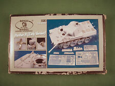 Royal Model 1/35 Resin/Photoetch Kit - German WWII Panther A Tank Early Version