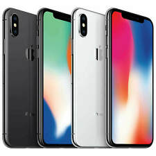Apple iPhone X - 64GB or 256GB - Factory Global Unlocked Model MQCN2LL/A