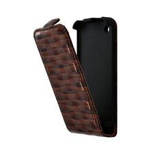 Housse étui coque pour Apple Iphone 3G / 3GS couleur marron + Film de protection