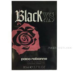 PACO RABANNE ( BLACK XS 80ml ) EDT SPRAY WOMENS PERFUME...ORIGINAL