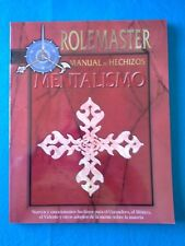 Rol - Rolemaster - Manual de hechizos: mentalismo - La Factoria RL657